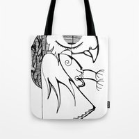 A Kind Of Parrot Tote Bag