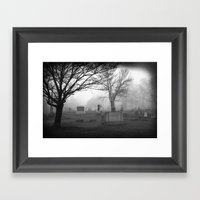 They're Coming To Get Yo… Framed Art Print