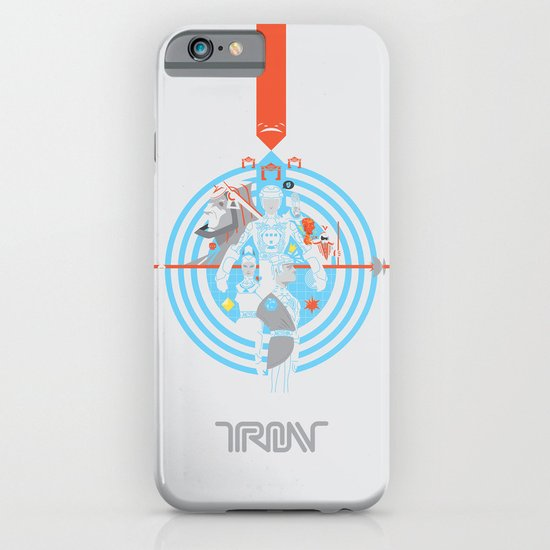 Tron iPhone & iPod Case