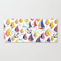 Nautical and Nice! Canvas Print