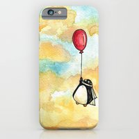 Penguin and a Red Balloon iPhone 6 Slim Case