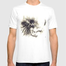 CORVUS CORAX SMALL Mens Fitted Tee White