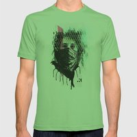 RIOT girl Mens Fitted Tee Grass SMALL