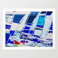 0040-SAILS 1010 Art Print