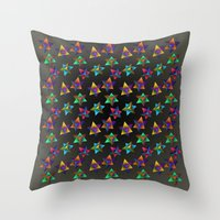 Skinny Aversion Throw Pillow