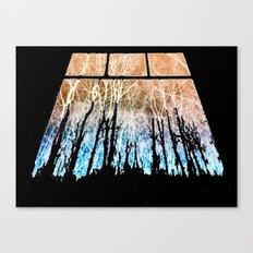 Veins of Stars Canvas Print