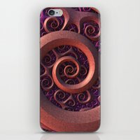 Spiral Mania iPhone & iPod Skin