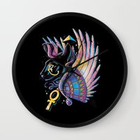 Pharaoh Cat Wall Clock