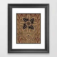 Synthesis Framed Art Print