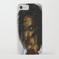 zombie iPhone & iPod Cases featuring Zombie!!  by Jake Stanton