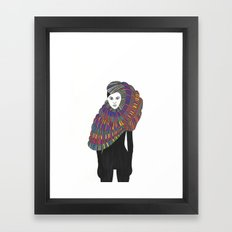 Fashion Illustration 2  Framed Art Print