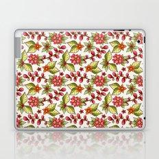 Red sweet flowers Laptop & iPad Skin