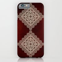Silvery Doodle iPhone 6 Slim Case