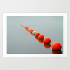 Line to the Unknown Art Print