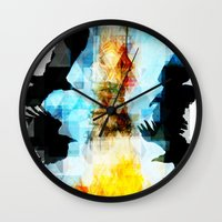 Twelve Crows Wall Clock