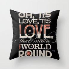 Oh, 'Tis Love Throw Pillow