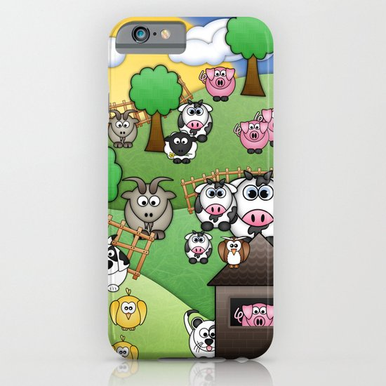 Down On Dingle Dopple Farm iPhone & iPod Case