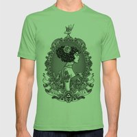 Menina Roza Mens Fitted Tee Grass SMALL