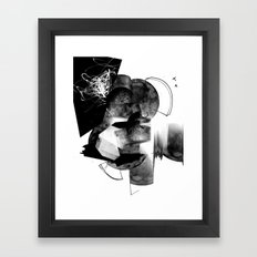 Moonscan Framed Art Print