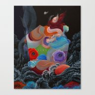 Canvas Print featuring It A Rose From A Depth W… by Anthony Hurd
