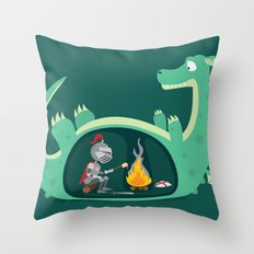 Indigestion Throw Pillow