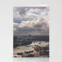 London Above Stationery Cards