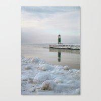 Winter in Holland, Michigan Canvas Print