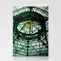 Glass Ship Stationery Cards