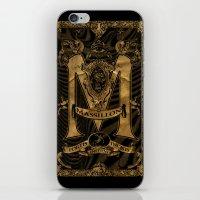 Mässillon Darkness iPhone & iPod Skin