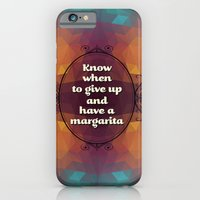 iPhone & iPod Case featuring Words of wisdom - Have a margarita by metroymediodesigns