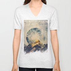One mountain at a time Unisex V-Neck
