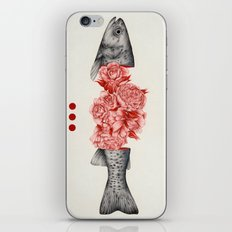 To Bloom Not Bleed II iPhone & iPod Skin