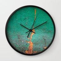 Cracked wall Wall Clock