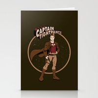 Captain Tightpants Stationery Cards