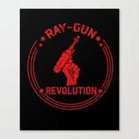 Ray-Gun Revolution Canvas Print