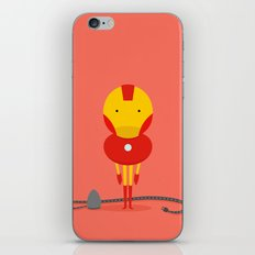 My ironing Hero! iPhone & iPod Skin