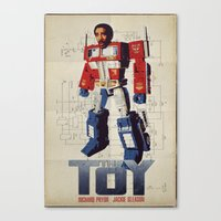 The Toy Poster Canvas Print