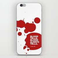 Dexter No.3 iPhone & iPod Skin