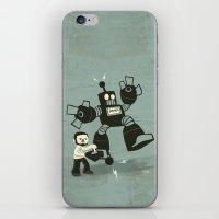 One Button Destruction iPhone & iPod Skin