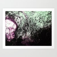 Stain Abstract 1 Art Print