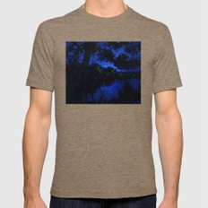 My Starry Night Mens Fitted Tee Tri-Coffee SMALL