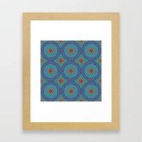 The Flower of Life pattern 3 Framed Art Print