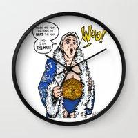 Ric Flair, THE MAN! (WWE, WWF, WCW, NWA) Wall Clock