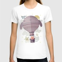 Dream Big Womens Fitted Tee White SMALL