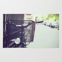 Bike in Paris Rug