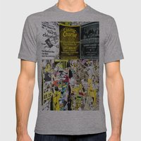 Cosmic Charlie Mens Fitted Tee Athletic Grey SMALL
