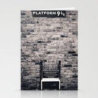 Platform 9 & 3/4 II Stationery Cards