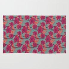 Vintage Blossoms Rug
