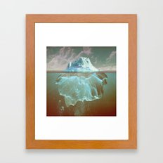 Mistook Framed Art Print