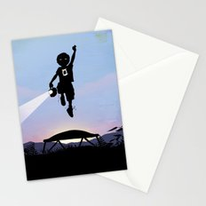 Green Lantern Kid Stationery Cards